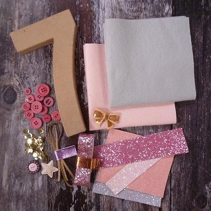 Decorate a Letter/Number Craft Bundle