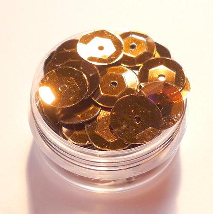 10mm Sequins :: Brown