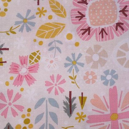 Fabric :: Goldilocks :: Cream Flowers