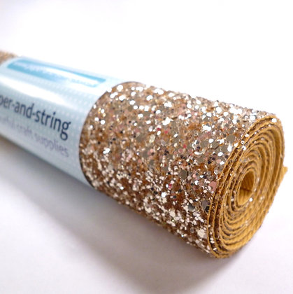 Chunky Glitter mini roll :: Gold