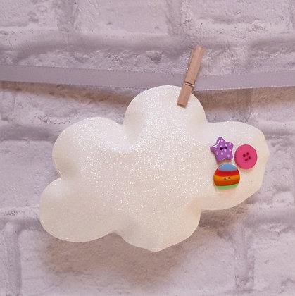 Handmade :: Fluffy Cloud :: XL Fine Glitter