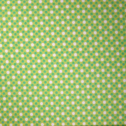 Fabric :: Dim Dots :: Lime