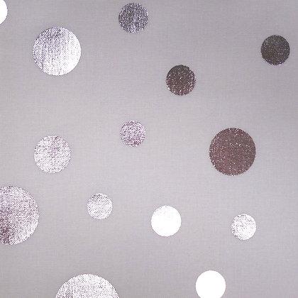 SALE Fabric :: Razzmatazz :: Silver Dots