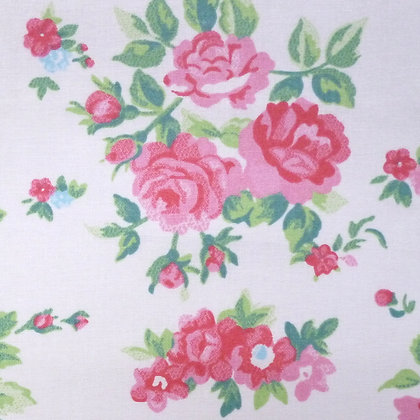 Fabric :: Wide :: Chintz Roses on Cream
