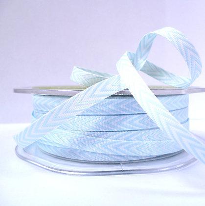 narrow twill ribbon :: ice blue