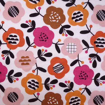 Fabric :: Geo Forest :: Flowers