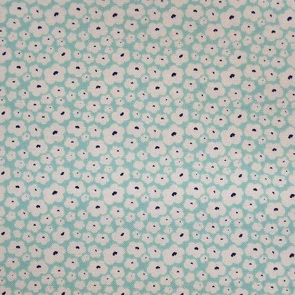 Fabric :: Posy Garden :: Aqua Flowers