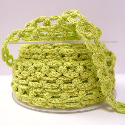 French Knit Chain :: Lime