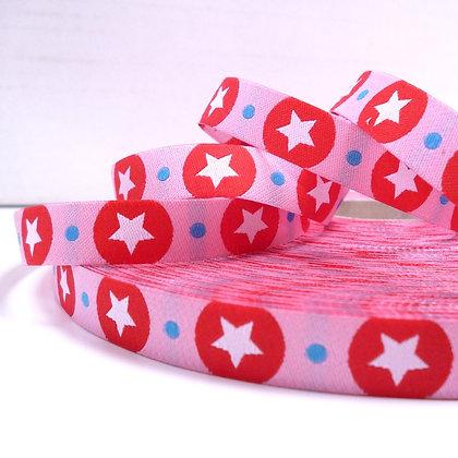 Embroidered Ribbon :: Big Stars