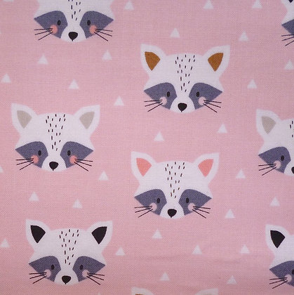 Fabric :: Geo Forest :: Racoon