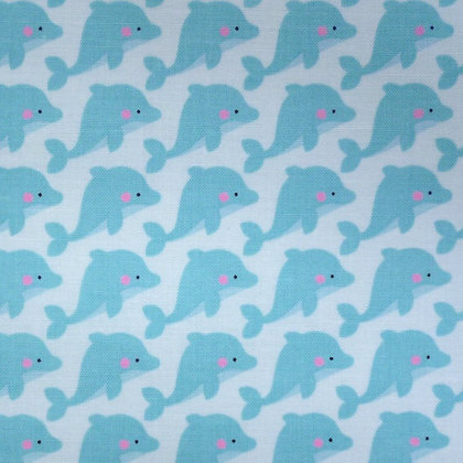 Fabric :: Under The Sea :: Dolphins