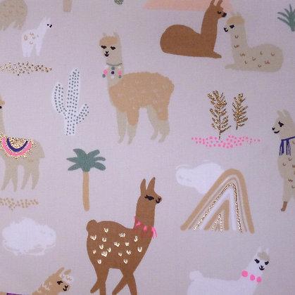Fabric :: Wide Alpaca Mountain :: The Alpacas