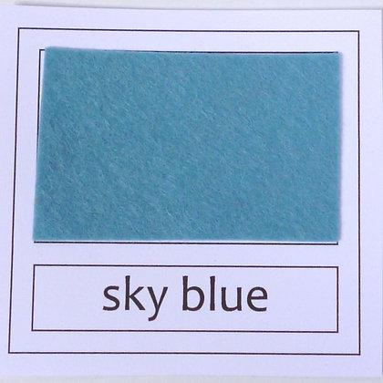 """Die Cut Pack :: 1"""" circles :: Sky Blue"""