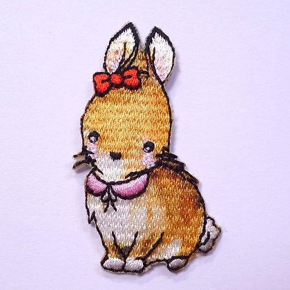Embroidered Motif :: Woodland :: Rabbit