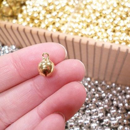 Jingle Bell :: Medium 10mm Gold