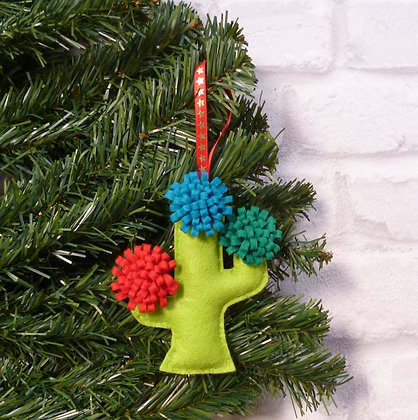 Cactus (Traditional) Christmas Decoration Kit