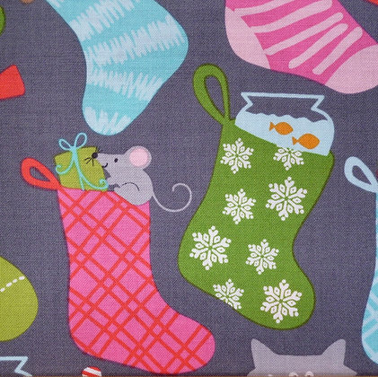 Fabric :: Even A Mouse :: Animal Stockings