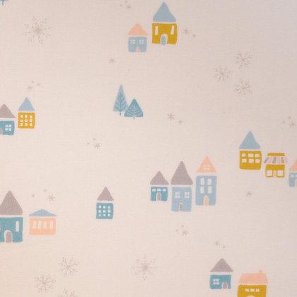 SALE Fabric :: Little Town :: Snow Drift Magic