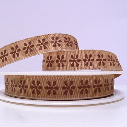 Natural Ribbon :: Brown Flower