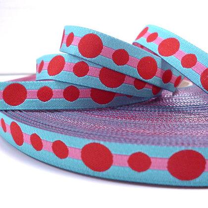 Embroidered Ribbon :: Big Dot Aqua