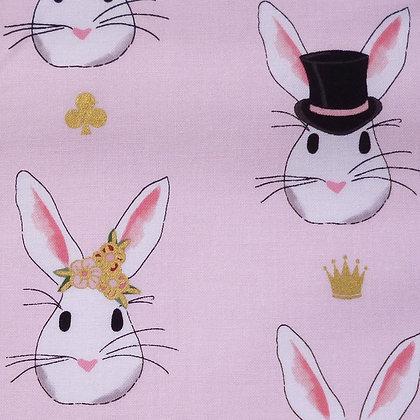 Fabric :: Wonderland 2 :: Bunny Rabbits