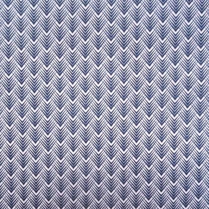 Fabric :: Golden Days :: Navy Feather Chevron