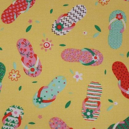 Fabric :: Summerlicious :: Flip Flops