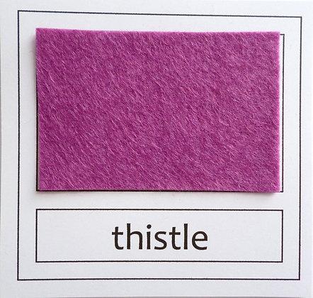 """Die Cut Pack :: 1"""" circles :: Thistle"""