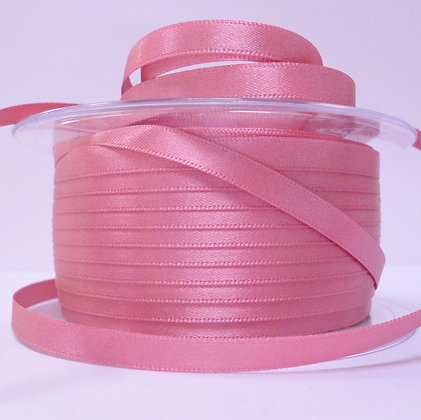 7mm Satin Ribbon :: Rose (977)