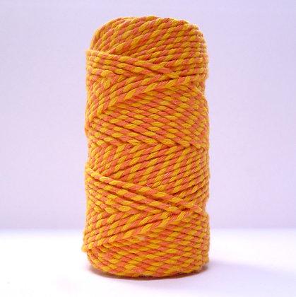 Baker's Twine MultiColoured 20m :: Yellow & Orange