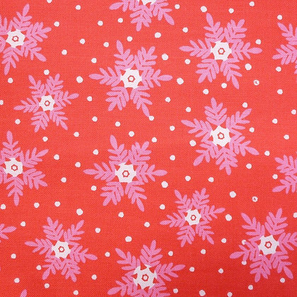 Fabric :: Christmas Dreams :: Red Snowflakes