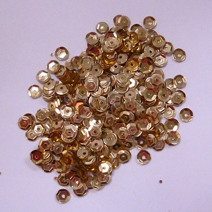 Tiny Sequins (5mm) :: Gold