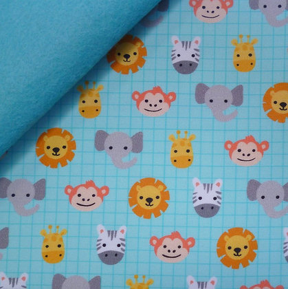 Fabric Felt :: Suzy's Minis :: Safari Soiree on Turquoise