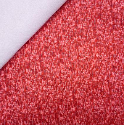 Fabric Felt :: Hashtag :: Red & White on White