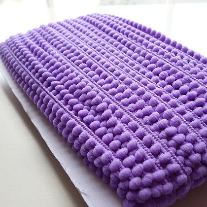 Teeny Tiny Pom Pom Trim (card)  :: Purple