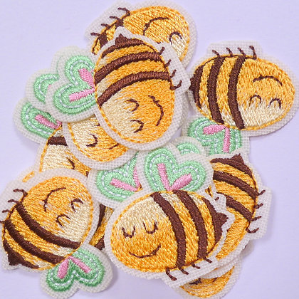 Embroidered Motif :: Bumble Bee