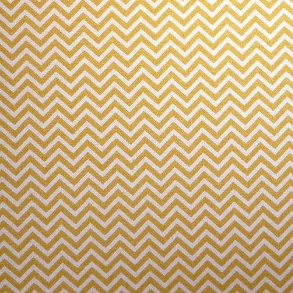 Fabric :: Wide :: Mini Chevron Mustard