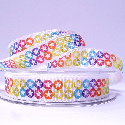 Rainbow Bright Ribbon :: Stars