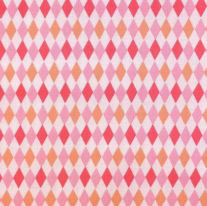 Fabric :: Mini Harlequin :: Watermelon
