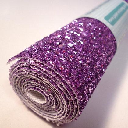 Chunky Glitter mini roll :: Silver Pink II