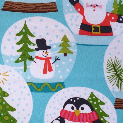 Fabric :: Even A Mouse :: Snowglobes