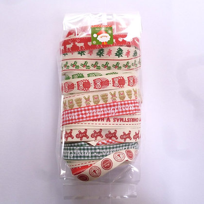 Bumper Packs :: Cotton Christmas Ribbons
