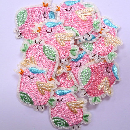 Embroidered Motif :: Little Birdie