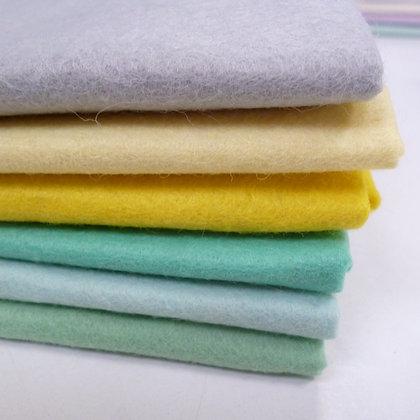 Premium Wool Felt Colour Pack :: Succulant II