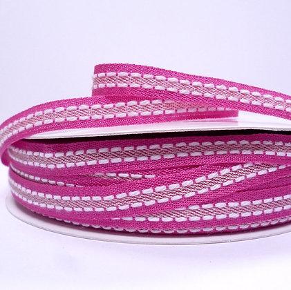 Double Stitch Ribbon :: Fuchsia