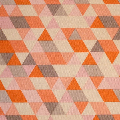 Fabric :: Ava Rose :: Coral Triangles