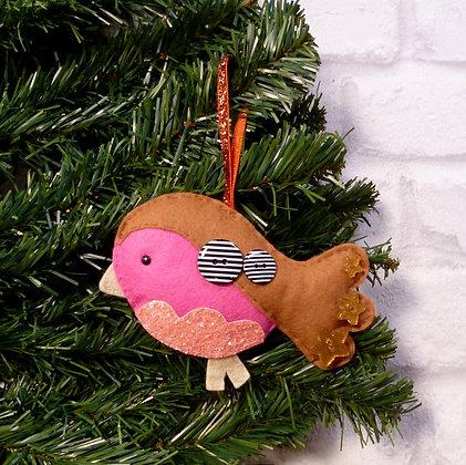 Robin (Bright) Christmas Decoration Kit