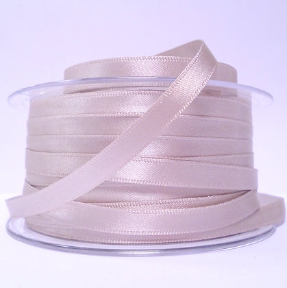 7mm Satin Ribbon :: Soft Grey (018)