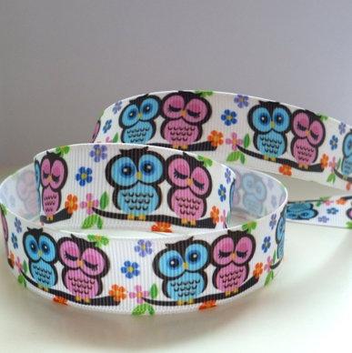 Cute Grosgrain Ribbon :: Mr & Mrs Owl