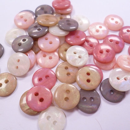 Pearly Pack of Buttons #1